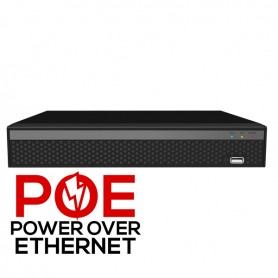 4 Channel PoE Network Video Recorder