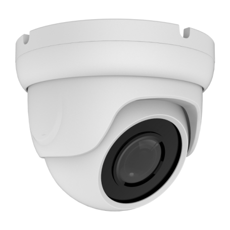 2MP IP Fixed Vandal Dome w/ PoE | White