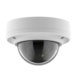2MP IP Fixed Dome w/ Protective Cover & PoE | White