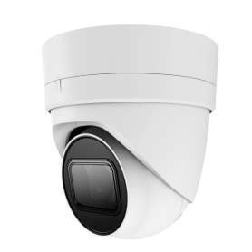 12MP (TRUE 4K) IP Fixed Vandal Dome w/ POE | White
