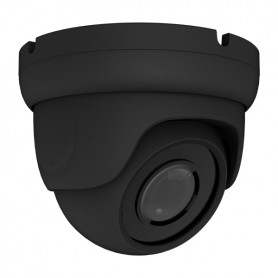5MP 4-in-1 AHD Fixed Vandal Dome | Black