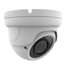5MP IP Varifocal Vandal Dome w/ POE | White