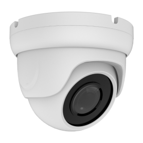 8MP (4K LITE) 4-in-1 AHD Fixed Vandal Dome | White