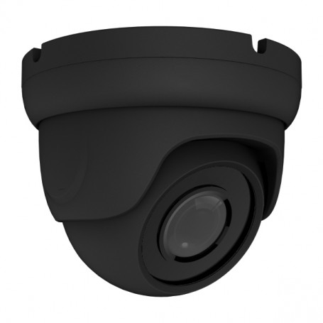 8MP (4K LITE) 4-in-1 AHD Fixed Vandal Dome | Black