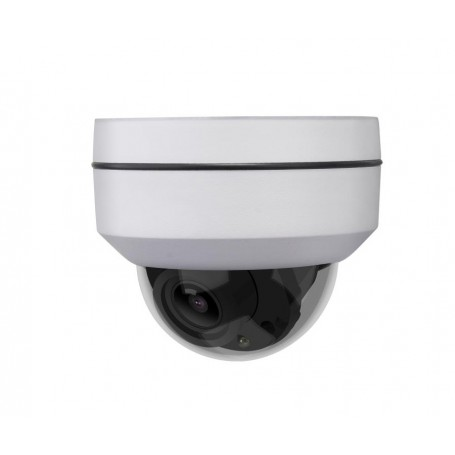 5MP IP 5x Zoom Mini PTZ Dome w/ POE | White
