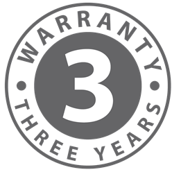 3 Year Warranty (Check Warranty page for more details)