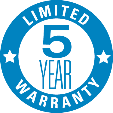 5 Year Extended Warranty (When all products needed for project are bought from us. More info on warranty page)